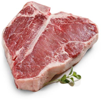 Fornitura carne per ristoranti: bovino adulto porterhouse