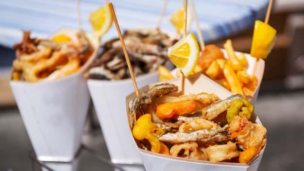 Fornitura pesce per ristoranti: panati e pastellati