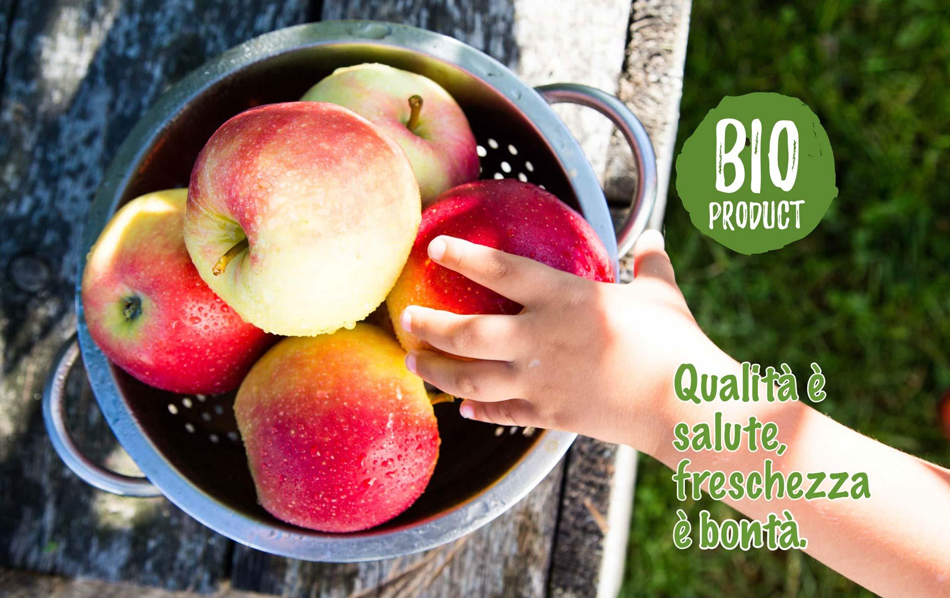 Prodotti BIO: qualità è salute, freschezza è bontà