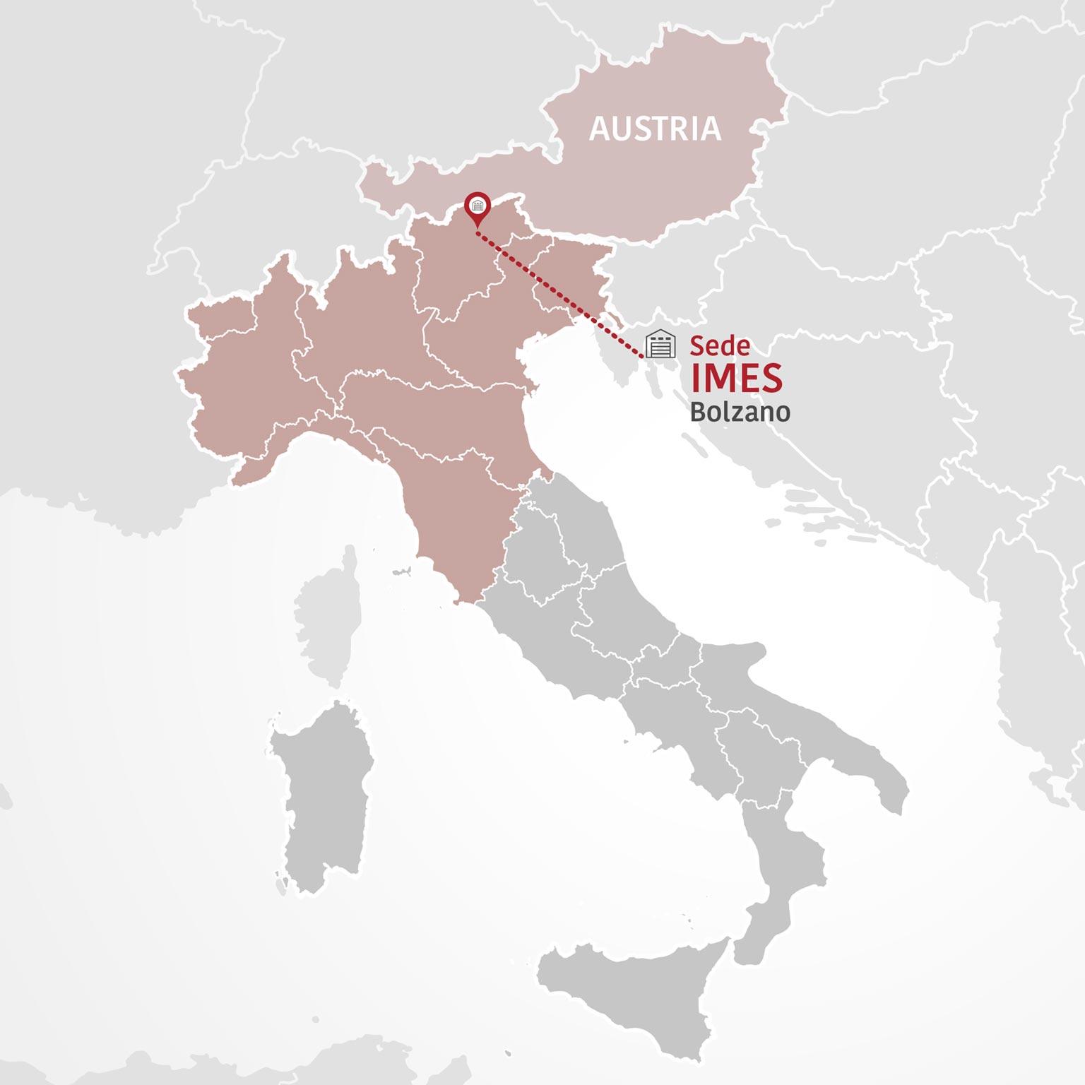 Distribuzione prodotti alimentari: la rete vendita IMES